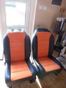 Přečalounění sedadel