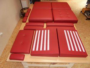 Výroba čalouněných modulů