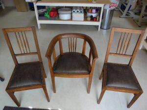 Křesílko a židle